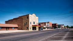 Downtown Iola, Kansas (Olden Bald) Tags: downtown small town america movie theater cinema old film palace kansas