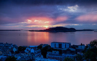 Ålesund sunset @ Norway 2018