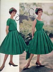 Jonathan Logan 1958 (barbiescanner) Tags: jonathanlogan ritaegan vintage retro fashion vintagefashion 50s 50sfashions 1950s 1950sfashions 1958 seventeen vintageads