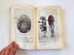 journal (Ines Seidel) Tags: alteredbook drawing doodle ink journal buch artistsbook tusche zeichnen