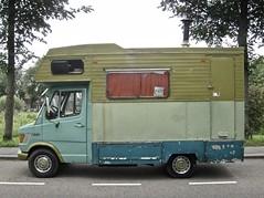 1978 MERCEDES-BENZ TN/T1 307D Mobile-home (ClassicsOnTheStreet) Tags: tk43gp mercedesbenz tnt1 307d mobilehome 1978 mercedes benz daimlerbenz mercedes307 307 mercedesbenz307d heiliger stefanheiliger 19771995 tn t1 mercedest1 t1series camper campervan campingcar kampeerwagen motorhome wohnmobil reisemobil 70s 1970s classic oldtimer youngtimer classico classiccar klassieker veteran gespot spotted carspot amsterdamnoord amsterdam noord nieuwendam nieuwendammerweg 2015 straatfoto streetphoto streetview strassenszene straatbeeld classicsonthestreet groen vert verde green grün