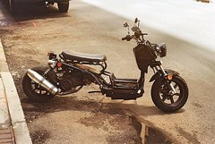 A Rad Looking Scooter (bongo najja) Tags: orleans new m3 leica 200 iso gold kodak