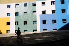 Paris, France (gstads) Tags: paris parisien parisian france french europe architecture color colour colorful colourful couleur couleurs line lines geometry geometric street streetscene streetphotography shadow shadows silhouette light lavillette villette