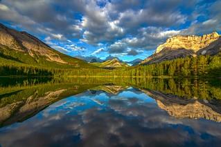 Wedge Pond Sunrise Reflections