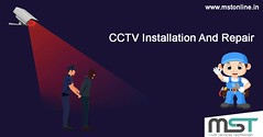 CCTV installation and repair. Hire a technician. (mstonline.in) Tags: mst multiskill technical professionals customers services lowcost expert doorstep cctv