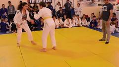 Beginning of the fight / Início de luta (BLLLCCC) Tags: bjj jiujitsu esporte sports fight lutas mat tatame girls kids teens gym academia barefoot descalça martialarts female feminino referee arbitro
