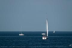 Fishing in Long Island Sound(1) (jgaosb) Tags: long island sound sunset sailboat fishing