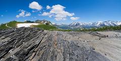 Slate (ramvogel) Tags: hasliberg sony a6300 samyang 8mm fisheye mountain sky stones clouds switzerland