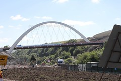 gilwern to brynmawr a465 heads of the valleys road dualling june 2018 e (Dskies) Tags: road building construction major works tarmac bridges wlaes wales june sunny