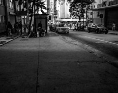 walk the line (Slaash Street Photographer) Tags: blackandwhite streetphotography semiotica americadosul canont5