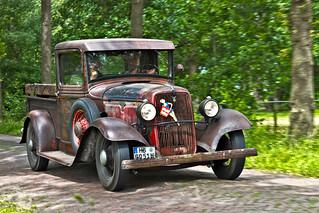 Ford V8 Pick-Up Truck 1934 (6134)