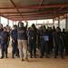 Arrival of the Rwandan FPU