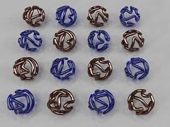 16 Hamiltonian cycles on an Elungated pentagonal Rotunda (Johnson J21)[Among 7100] (fdecomite) Tags: hamilton polyhedron polyhedra math rhino