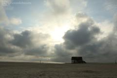 dramatic sky (photos4dreams) Tags: nordsee north germany norddeutschland photos4dreams p4d photos4dreamz photos meer sea sand strand holiday urlaub sanktpeterording nordfriesland nf