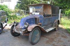 Renault Type II Fourgon 1921 (Monde-Auto Passion Photos) Tags: voiture vehicule auto automobile renault fourgon ancienne classique épave rare rareté vente enchère osenat france chaillyenbière