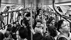 Skytrain ! (James Whorriskey (Delbert Jackson)) Tags: jameswhorriskeyphotography jameswhorriskey delbert jackson skytrain bangkokthailandpeople commuters derry londonderry ulster derryphotographer northernireland 07710408066 transport asia candid