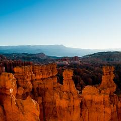 In Canyons 244 (noahbw) Tags: brycecanyon d5000 nikon utah autumn canyon desert erosion hills hoodoos horizon landscape mountains noahbw rock sky square stone