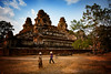 Workers At An Angkor Temple, Cambodia (El-Branden Brazil) Tags: cambodia cambodian asia asian khmer angkor southeastasia buddhism buddhist temple