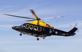 ZR283 Cobham Helicopter Services / RAF DHFS @ Cornwall Airport Newquay, St Mawgan.