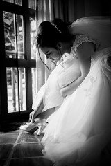 The Bride (miguelgarciafoto) Tags: portrait wedding bnw blackandwhite nikon pro flickrtravelaward photography moment bride woman art artistic ratrato love boda amor dress amazing awesome noir blancoynegro