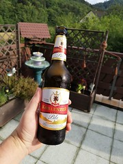 Andere Terrasse anderes Bier (hmboo Electrician and Adventurer) Tags: beer bier terrasse diebels