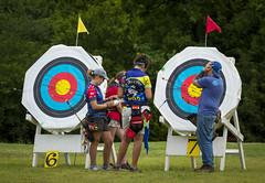Archery 4 (dbirmingham08) Tags: archery archer arrow release bow hoyt pse mathews sport target shoot shot 900round gold spot joad score girls