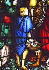 boy with a basket of nails (Kempe & Co, 1911) (Simon_K) Tags: kingscliffe kings cliff cliffe northants northamptonshire church