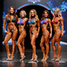Bikini Masters B 4th Kirkegaard 2nd Alfred 1st Andrews 3rd Sharpe 5th Carrizo