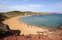 La spiaggia di Cavalleria - Cavalleria beach (Roberto Marinoni) Tags: minorca menorca spiaggia beach cavalleria spiaggiadicavalleria cavalleriabeach sabbia sand sabbiarossa redsand spagna spain mare sea