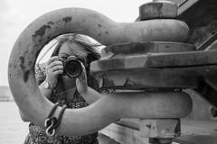 Michelle (Ruud.) Tags: ruudschreuder nikon nikond850 d850 portret portrait porträt meisje madchen fille girl bw zwartwit monochrome blackandwhite blackwhite camera