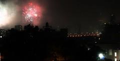 Firework (lotosleo) Tags: firework nyc urban holiday night light outdoor city landscape skyline lic
