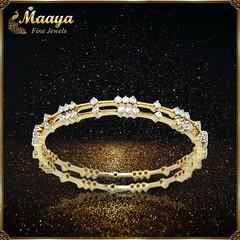 Diamond Bangle in New Jersey - Maaya Fine Jewels (maayacomms) Tags: diamondjewelry diamond bangles indian jewelry store new jersey maaya fine jewels