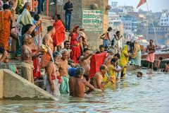 Varanasi (RunningRalph) Tags: ganga ganges india river varanasi uttarpradesh in
