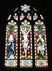 St. Mary's Church, Stalbridge, Dorset (Living in Dorset) Tags: stainedglasswindow churchwindow church stmaryschurch stalbridge dorset england uk gb