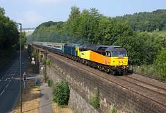 47749 + 47727 Bullbridge 14/7/18 (Ram 69) Tags: 47749 47727 pathfindertourstheteeswearexplorer colas railcityoftruro 1z84 derbyshire railways edinburghcastle