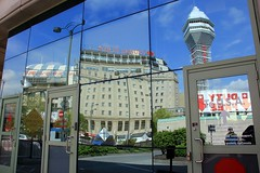 Reflections - Niagara Falls - 2018-05-27 (BillyGoat75) Tags: crowneplaza casino relections glass mirror usa boarder niagarafalls ontario canada