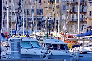 493 - Bastia à travers le Vieux Port