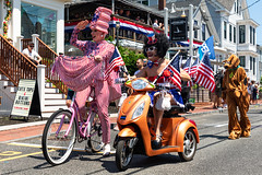 Provincetown Fourth of July Parade (Robert Wash) Tags: massachusetts ma capecod provincetown fourthofjuly scarbie missrichfield1981 parade