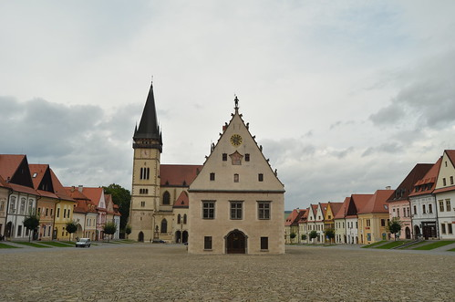 Bardejov's old square XI