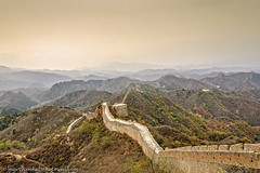 The Great Wall Of China (Marty Cooke) Tags: greatwallofchina china history historical defense landscape mountains sky