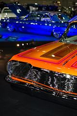 Orange and Yellow (Future Relic) Tags: low riders custom car torres empire los convention center 2018 lowrider rider candy paint chrome chevrolet chevy americana show culture angeles california nikon d610 dslr colour