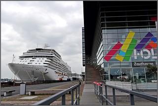 Seven Seas Explorer Quay Passenger Terminal Amsterdam PTA en Bimhuis