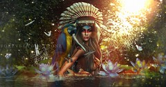 New Post: ∞Forever Twenty One∞ LOTD 589 Native Brazilian... (Forever Twenty One Owner) Tags: catwa maitreya taketomi glamaffair epiphany