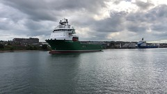 Havila Crusader - Aberdeen Harbour Scotland - 17/7/2018 (DanoAberdeen) Tags: aberdeen amateur aberdeenscotland abdn aberdeenharbour aberdeencity danoaberdeen danophotography candid 2018 abz clouds cargoships merchantships merchantnavy vessels fittie transport tugboats torry uk unitedkingdom iskoçya iphonevideo offshore oilships oilrigs offshoreships supplyships shipspotting metal oilrigsupplyships northsea northseasupplyships northseasupplyvessels northeastsupplyvessels geotagged pocraquay aht anchorhandling supplyship cloudporn bluesky water scottishwater maritime marine seafarers grampian havilacrusader