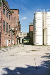 after shift (flyerkat_L.E.) Tags: factory city urban film analog agfavista200 nikon fm2 35mm