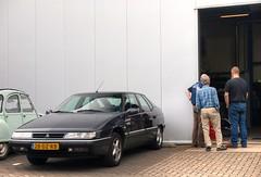 Citroën XM 2.0i 16V (Skylark92) Tags: nederland netherlands holland flevoland almere xenonstraat 158 do citroen specialist service garage bxclub bollen bbq meeting car road wheel citroën xm 20i 16v 2000 28dzrb