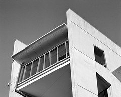 P67ii + 90mm + Ilford XP2 Super + Epson V800 (Khem A.) Tags: pentax67ii ilford xp2 blackandwhite analog film mediumformat curtin university perth tetenal c41 epson v800 6x7 pentax 67 architecture buildings