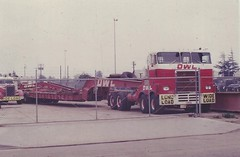 "Heavy Haulage tractor, ""Pierce""? (PAcarhauler) Tags: owl pierce truck tractor trailer"