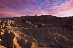 Sunset @ Death Valley [Explored] (RigieNL) Tags: deathvalley zabrinskie zabrinskiepoint sundown sunset sun sky purple pink insta instagram landscape landschap amerika america usa unitedstates californie dream beautifull color clouds california valley roadtrip sony sonya6000