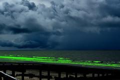 Slime (Dreaming of the Sea) Tags: sliderssunday storm clouds sky water sand sea surf woodgate boatramp jetty waves nikond5500 nikkor18200mm coralsea queensland australia bundaberg hss